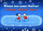 The beginning of winter:13