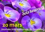 Journée internationale du bonheur:9