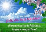 Día de la felicidad:6