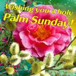 Palm Sunday:1