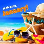 January. Summer:3