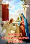 Annunciation to the Blessed Virgin Mary:7