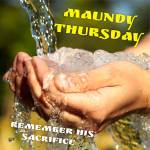 Maundy Thursday:2