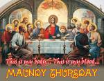 Maundy Thursday:7